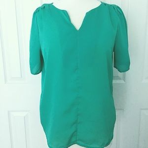 Cynthia Rowley Green Top